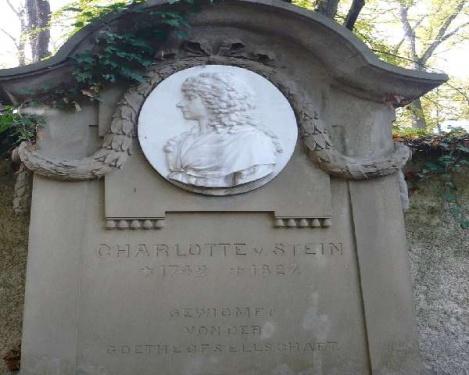 Weimar 16 Historischer Friedhof_Frau v. Stein