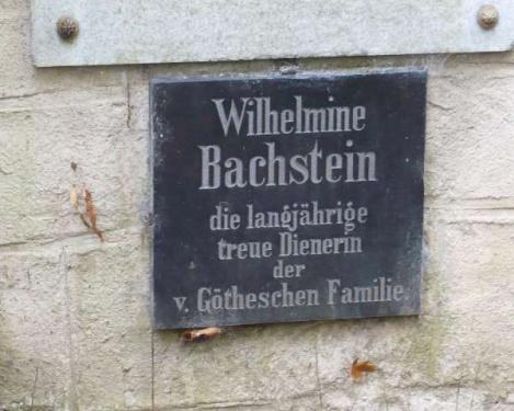 Weimar 13 Historischer Friedhof_Fam.Goethe