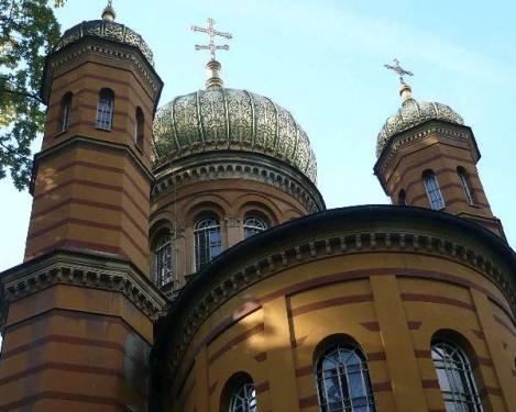 Weimar 6 Historischer Friedhof_Russ.Kirche