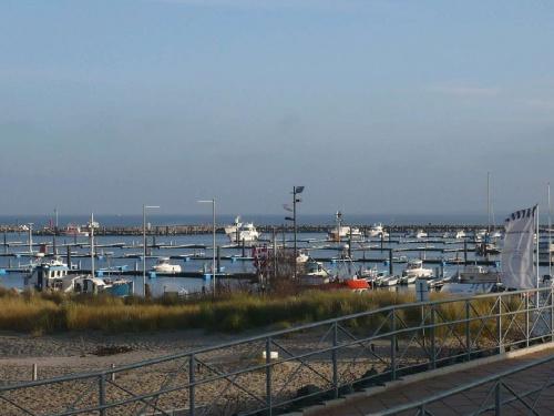Yachthafen vor dem Hotel