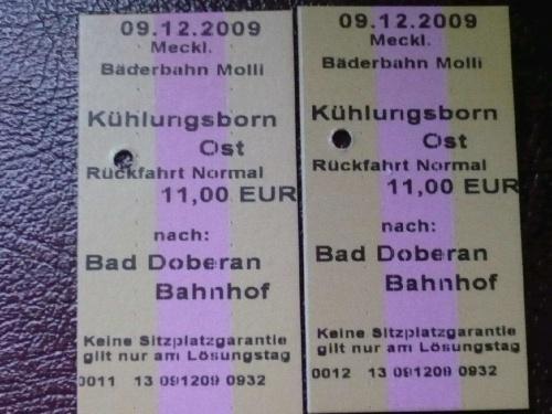 MOLLI - Fahrkarten
