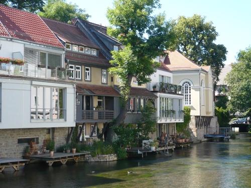ERFURT - Blick von der Schlösserbrücke