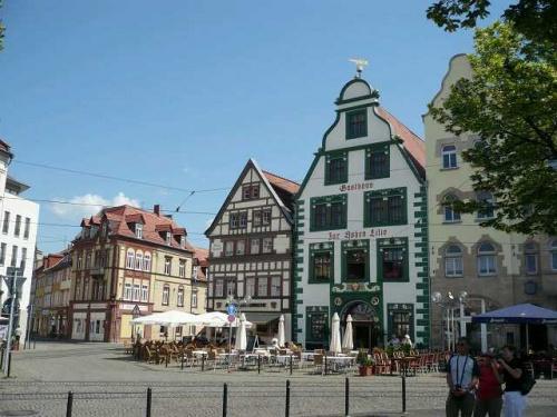 ERFURT - Domplatz Grüne Apotheke_Hohe Lilie