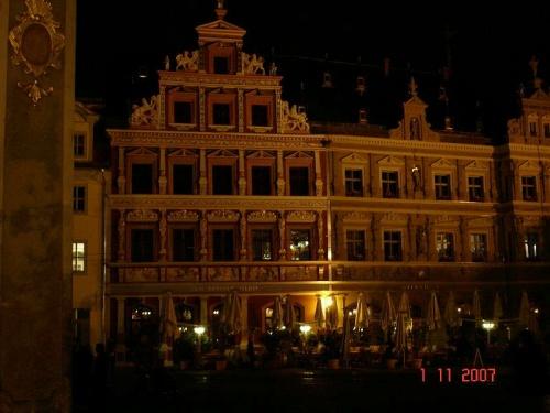 ERFURT -  Gildehaus bei Nacht
