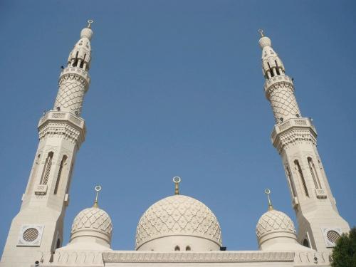 15 Dubai Jumeirah Moschee Türme
