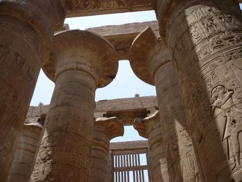 81 Luxor Karnak-Tempel Säulenhalle