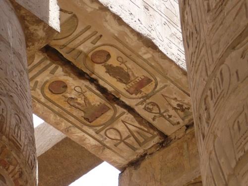 82 Luxor Karnak-Tempel Säulenhalle