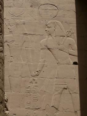 83 Luxor Karnak-Tempel Säulenhalle