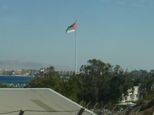 95 Akaba Fahne der Arabischen Liga