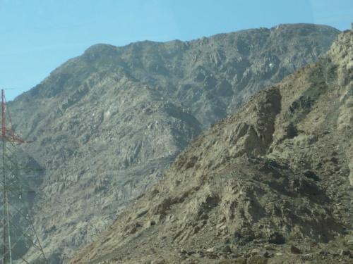 96 Akaba Fahrt nach PETRA