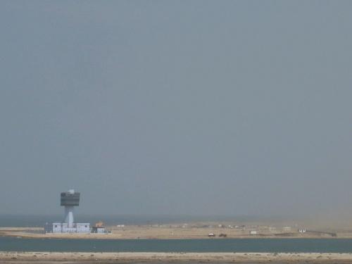 132 SUEZ - KANAL - Einfahrt ins Mittelmeer