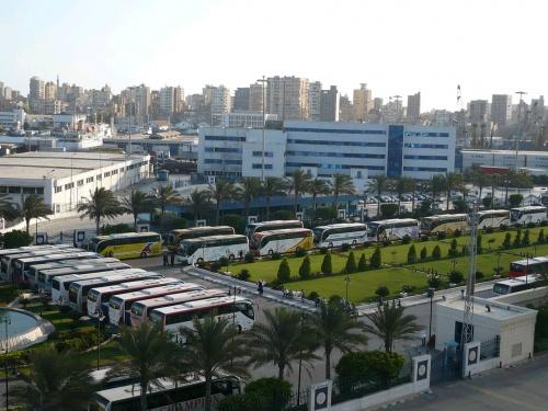 133 Alexandria Ankunft