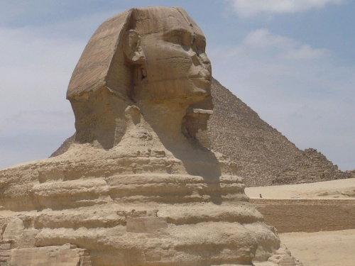 136 Gizeh Rätselhafte Sphinx