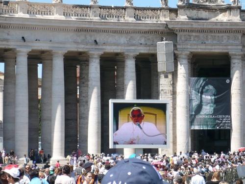 157 ROM Papst-Ansprache