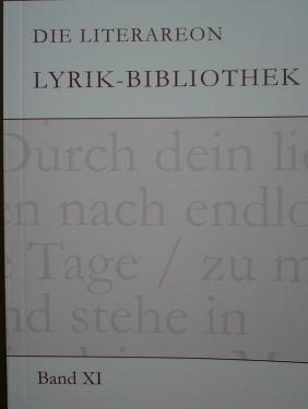 Literareon Lyrik-Bibliothek XI 2010 _ S. 195 f.