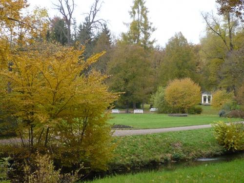 Weimar-Tiefurt 1 Park Herbst
