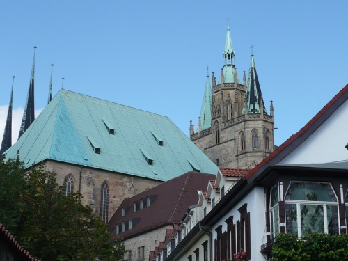 Erfurter Dom_andere Perspektive