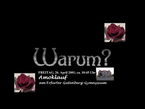 Amoklauf 26.04.2001 WARUM