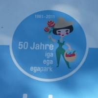 """02.05.11  # Für viele ERFURTER wurden zur JUBLÄUMSFEIER """" 50 JAHRE in ERFURT  IGA _ ega _ egapark """" alte ERINNERUNGEN wieder wach #"""