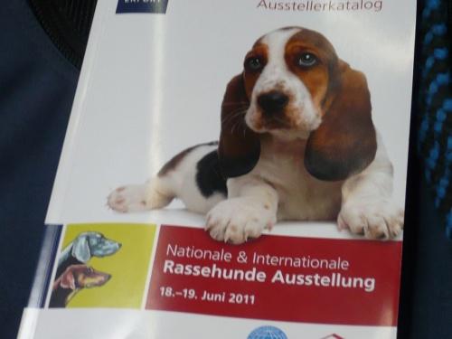 RassehundeAusstellung 2011 in Erfurt
