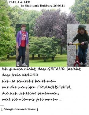 Paula und Leo_Schnappschuss 26.06.11