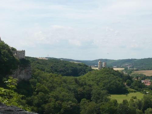 Rudels- und Saalburg im Blick