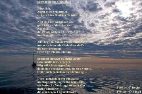 Gedicht im Bild