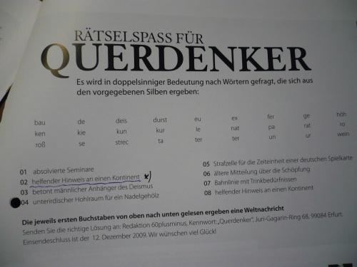 Magazin60+/- ...  Okt. 2010