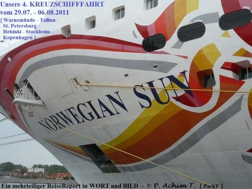 NorwegianSUN - Unser Kreuzfahrtschiff