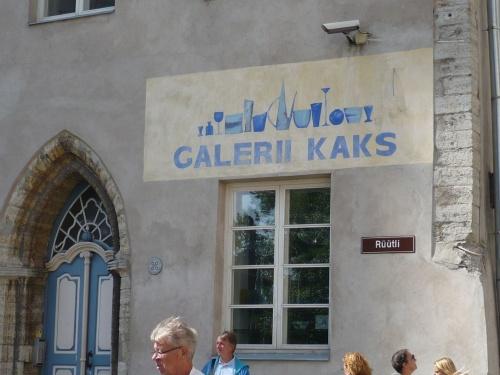 Tallinn _ Viele Galerien in der Stadt