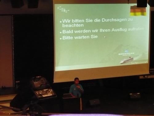 LandgangManagement im Theater