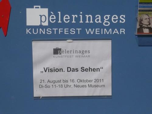 Vision.Das SEHEN 1 NeuesMuseum Weimar 31.8.11