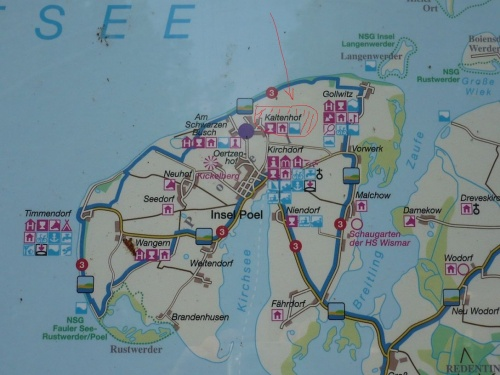 Insel Poel 2011 - Wegweisung
