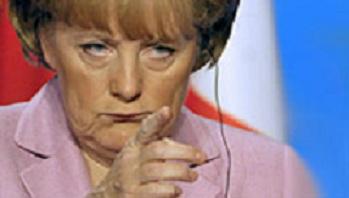 Merkel ... böse