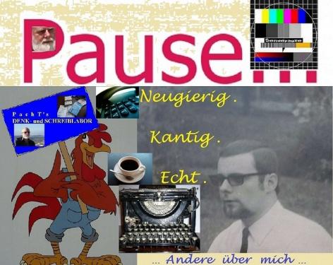 Pause im Denk- uSchreiblabor