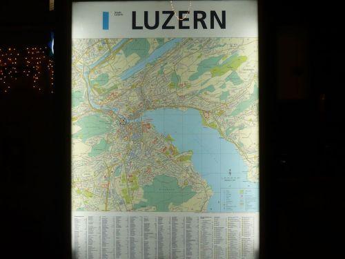 003 LUZERN (CH) Zwischenstopp