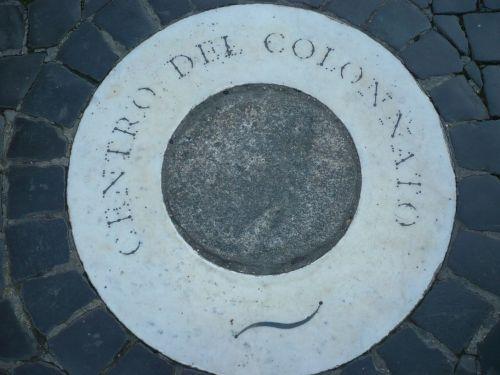 130 Gedenkstein auf dem Petersplatz