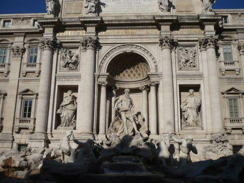 123 ROM Trevi - Brunnen