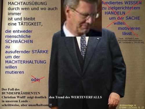 WerteVerfall _ 2012 _ Christian Wulff
