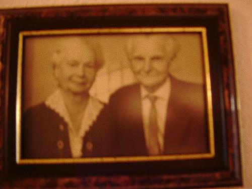 1887 - 1974 Opa Karl u. Oma Klara