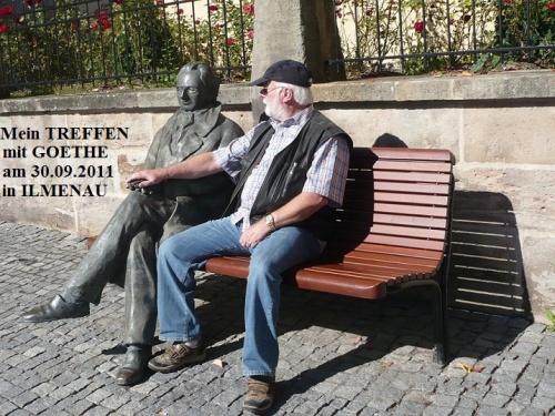 PachT und Goethe in Ilmenau