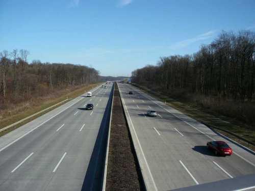 Freiheit auf der Autobahn