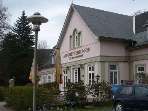 Bad Berka  Restaurant Am GoetheBrunnen
