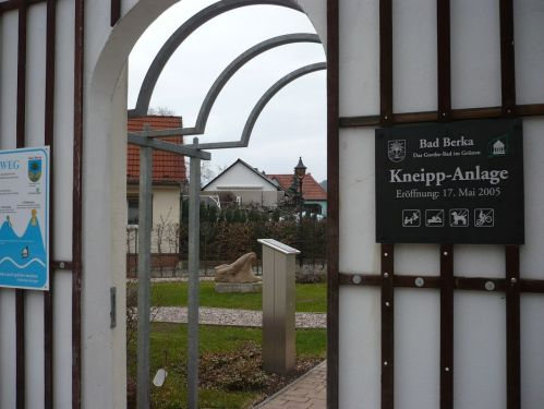 Bad Berka  Kneipp-Anlage