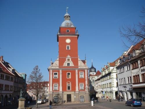 Gotha 01 Rathaus rückseitig