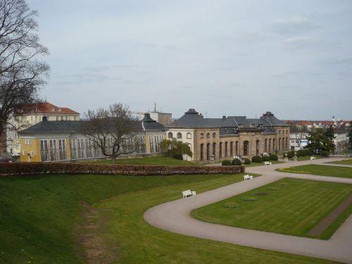 Gotha 20 Blick auf Orangerie