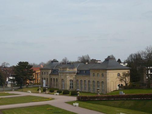 Gotha 21 Blick auf Bibliothek