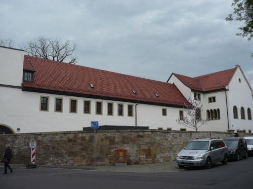 Anger  Wigbertkirche  Klostergebäude