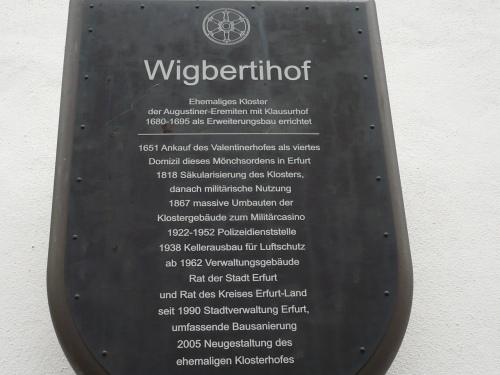Anger  Wigbertkirche  Klosterhof