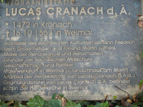 Weimar Jakobskirche m. Friedhof 17